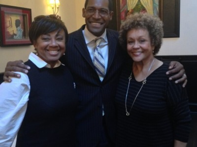 Janice Huff and Sue Simmons w Alvin