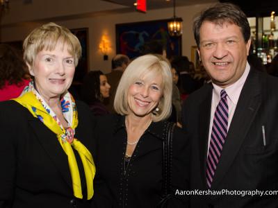 Linda, Diane and George Latimer