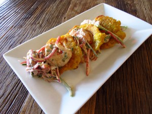 SHrimp tostones cropped