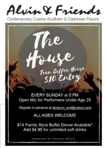 The House: Open Mic for Performers Under 25