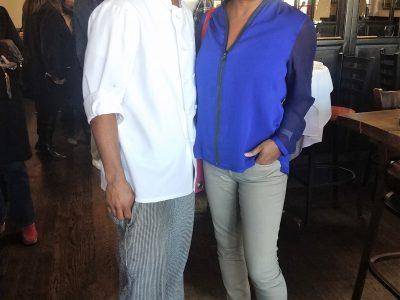 Kimani and Janice Huff March 2017