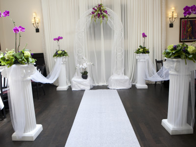 Wedding alter closer