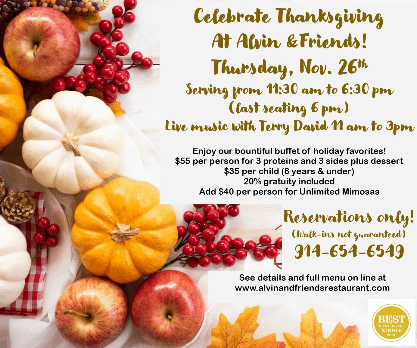 Thanksgiving promo 2